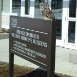 Bernice Barbour Wildlife Medicine Building Exterior Sign